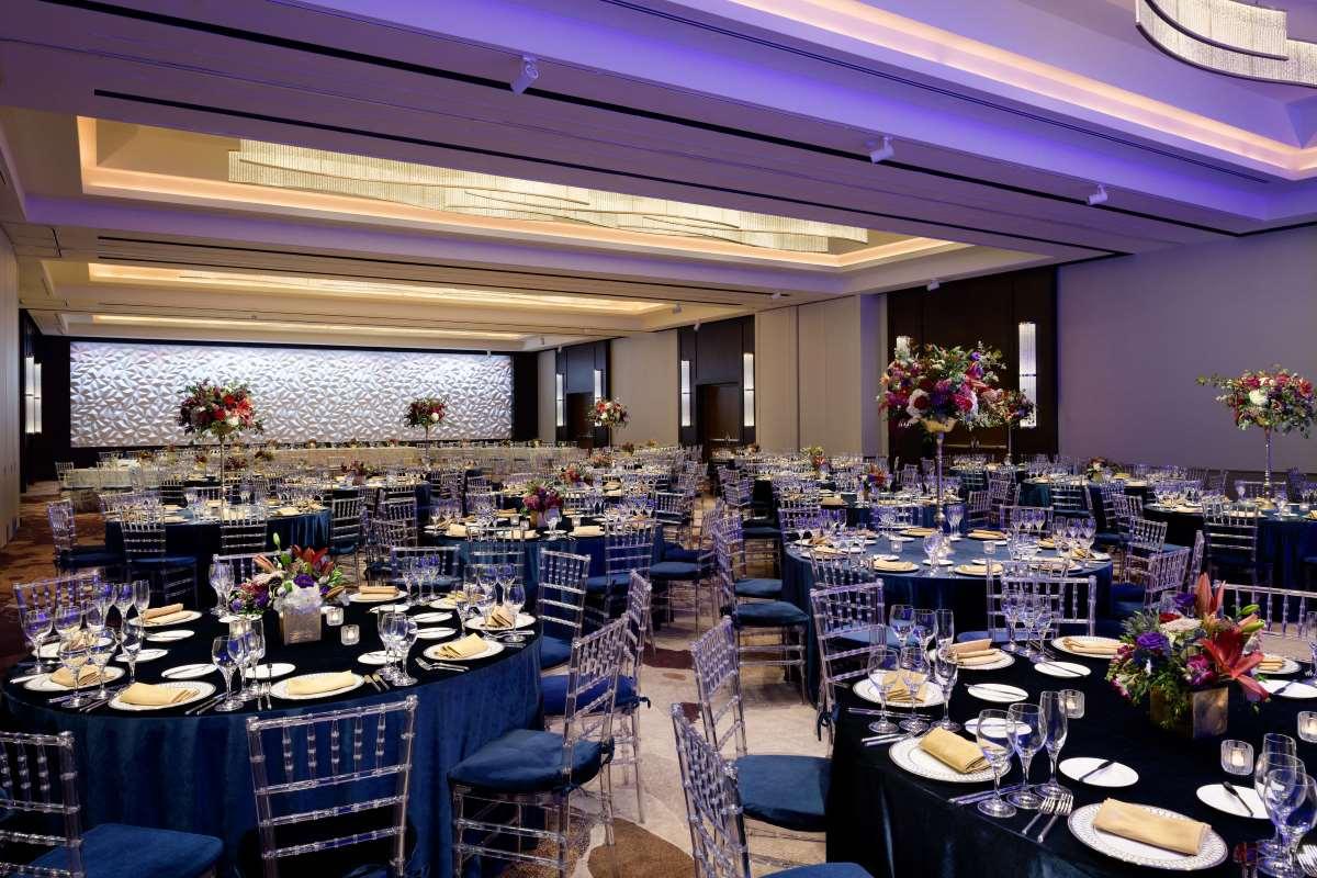 Ballroom blue social