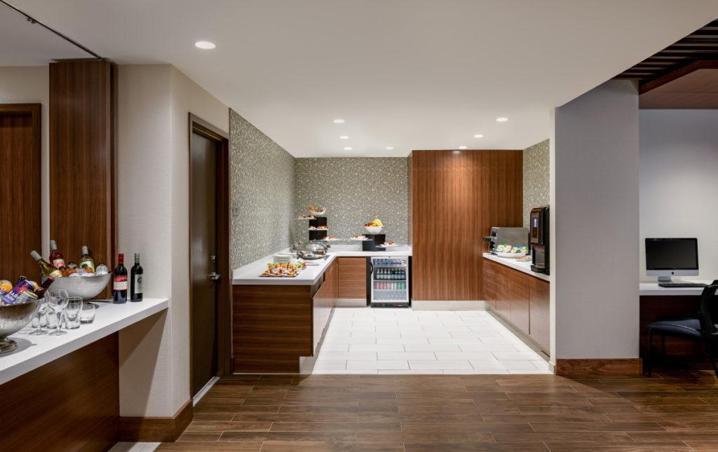 Executive Lounge at the Hilton Washington DC National Mall Hotel